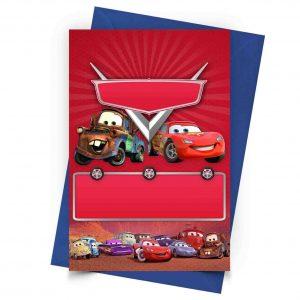 Blank Cars Invitation Online