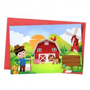 Customize Barnyard Invitation Online