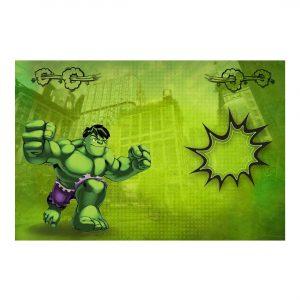 Editable Hulk Invitation Free