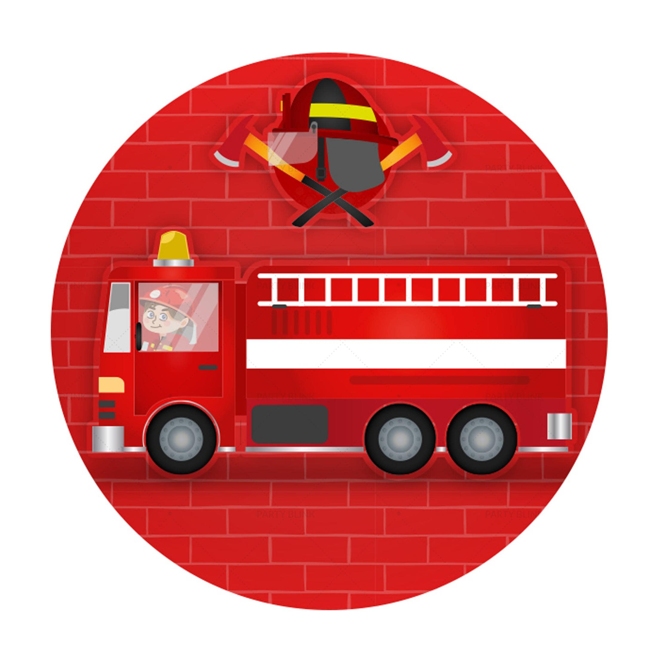 Firefighter Printables Free Label