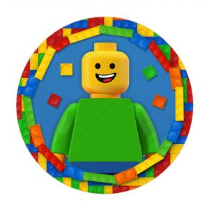 Free Lego Thank yourLabel template to download and print
