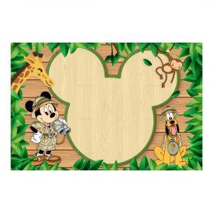 Free Mickey Safari Invitation Printable