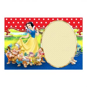 Free Snow White Invitation Printables