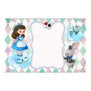 Alice in Wonderland Invitation Free