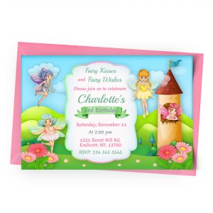 Customize Fairies Invitation Online