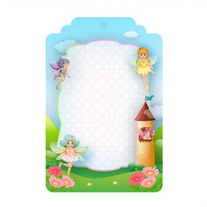 Free Fairies Tag Editable Template download and print