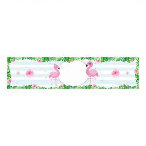 Free Flamingo Bottle Label