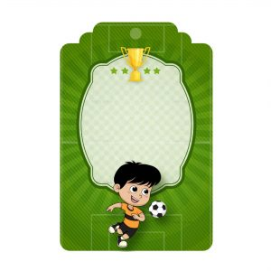 Free Soccer Tag Editable Template download and print