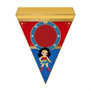 Free Wonder Woman Letter Banner