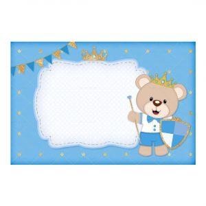 Royal Teddy Bear Invitation Free