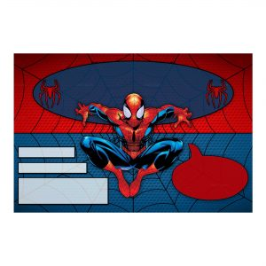 Spider-Man Invitation Free