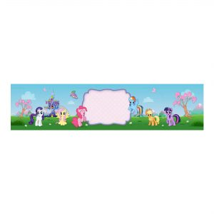 Free My Little Pony Bottle Label