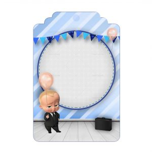 Free Boss Baby Tag Label Editable Template