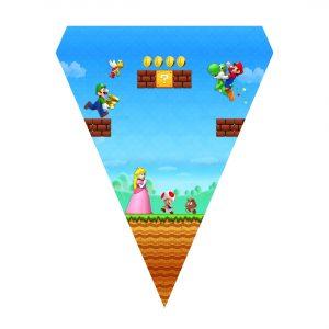 Free Super Mario Flag