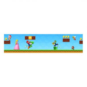 Free Super Mario Label