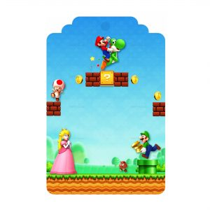 Free Super Mario Tag Label Editable Template