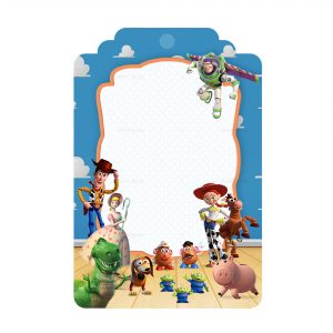 Toy Story Printables Free - Tag Label Editable Template