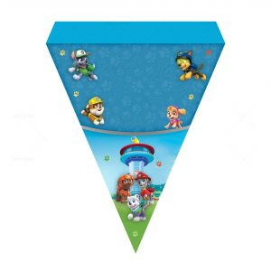 Free Paw Patrol Letter Banner
