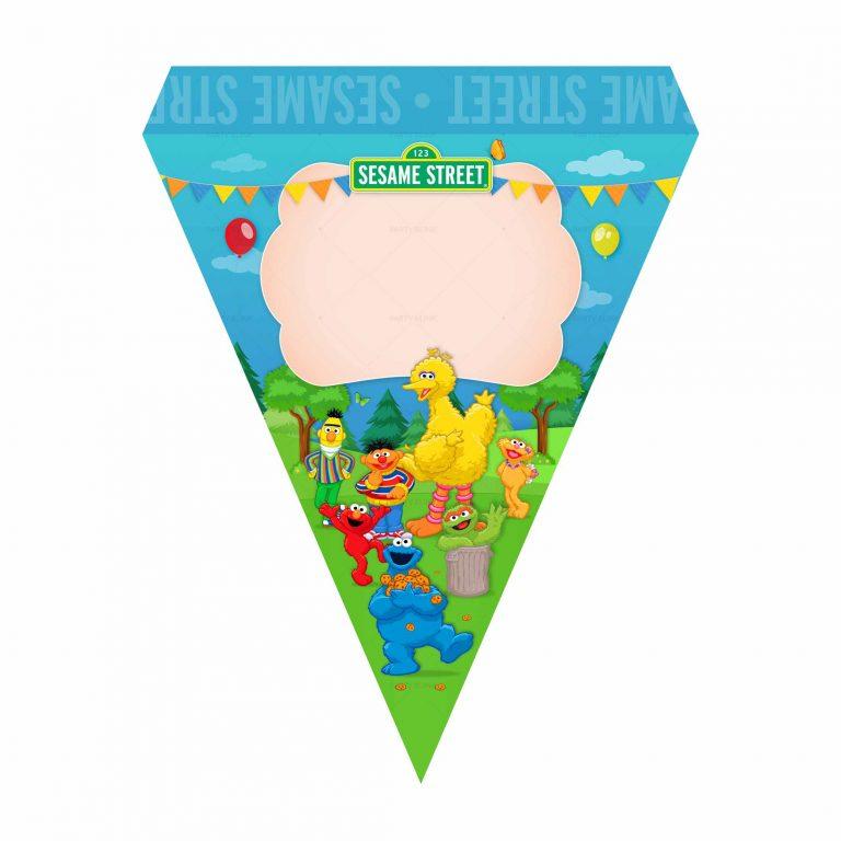 Free Sesame Street Flag