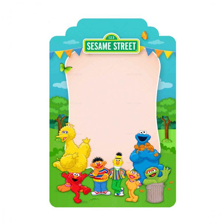 Free Sesame Street Tag