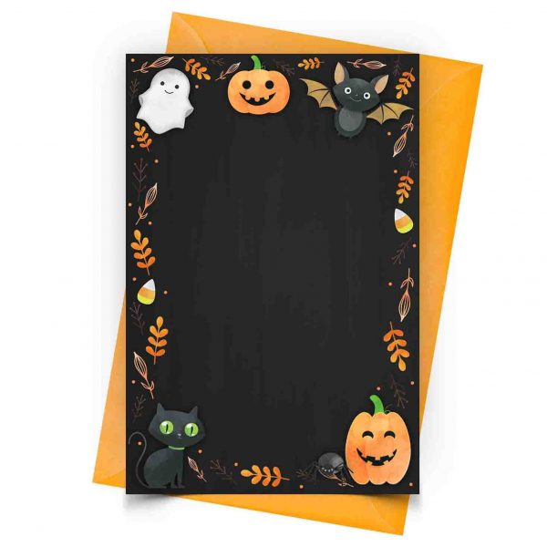 Personalized Halloween Invitation
