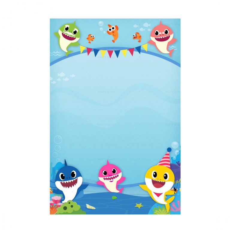 Free Baby Shark Invitation