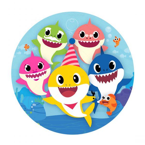 Free Baby Shark Round
