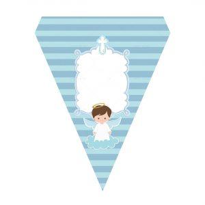 Free Blue Angel Baptism Flag