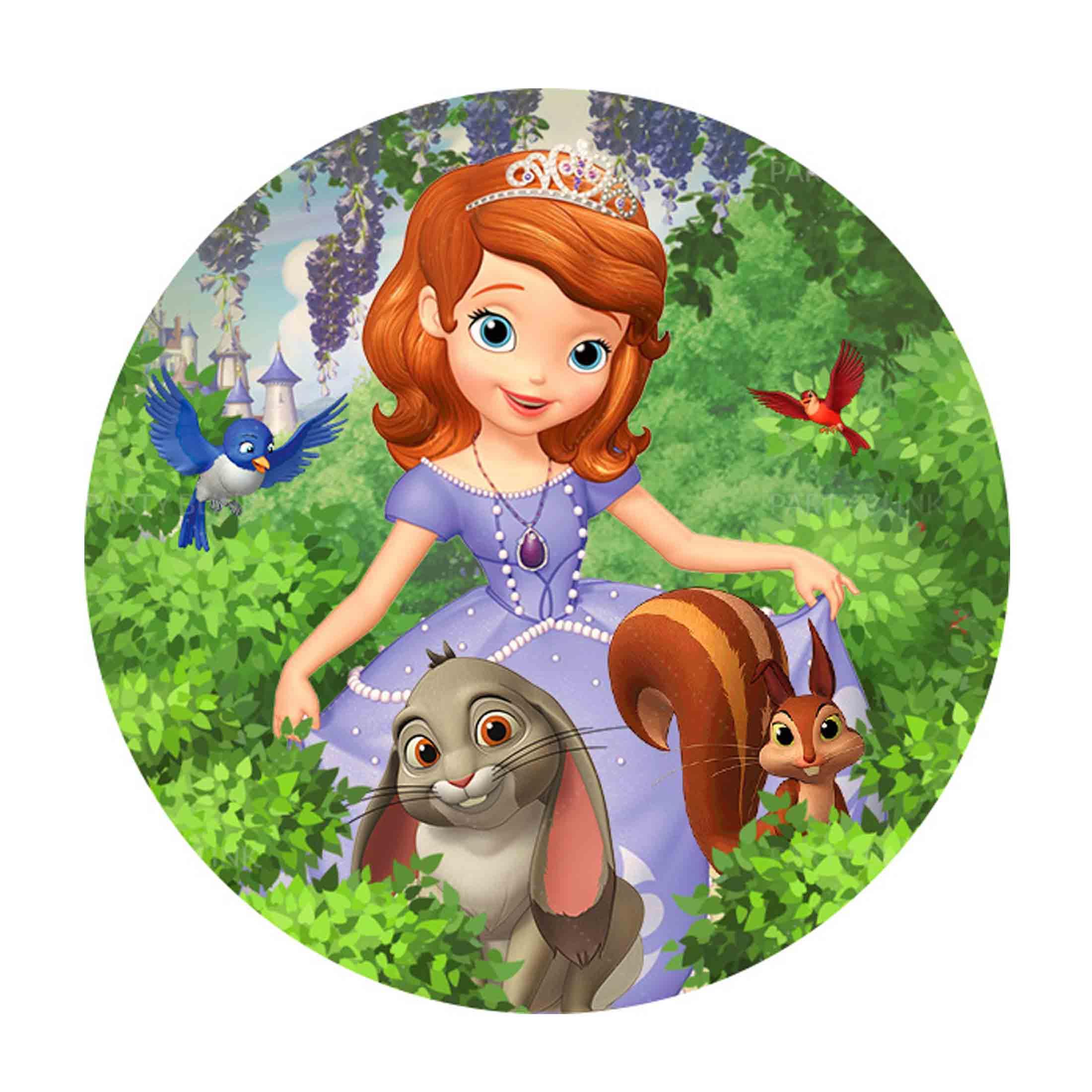 Free Princess Sofia Round