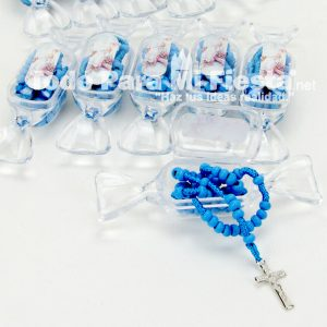 Baptism Blue Rosary