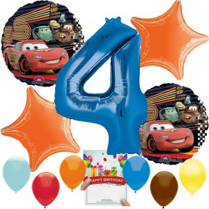 Cars Party Balloon