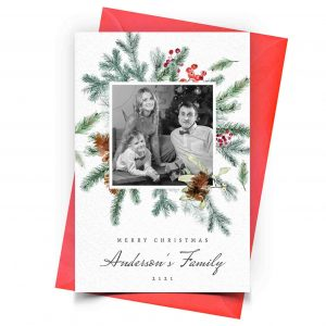 Christmas Card Personalized 1