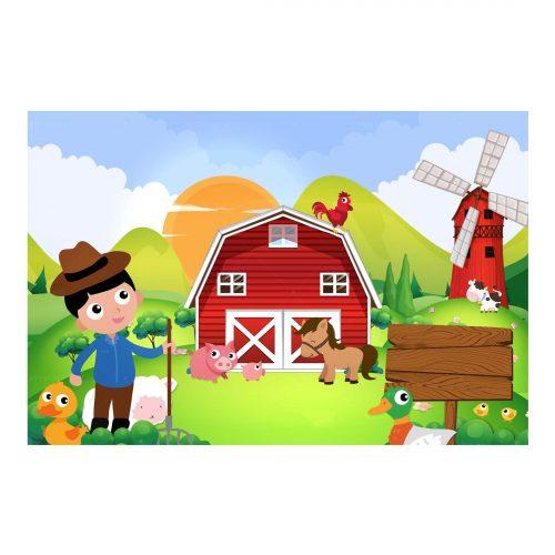 Editable Barnyard Invitation Free