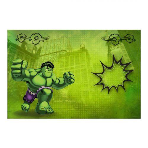 Editable Hulk Invitation Free Printable