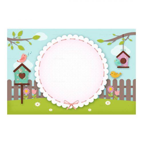 Enchanted Garden Invitation Free