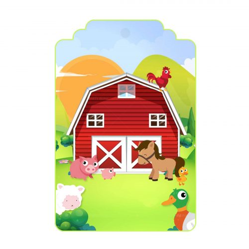 Free Barnyard Tag Label editable template to download and print