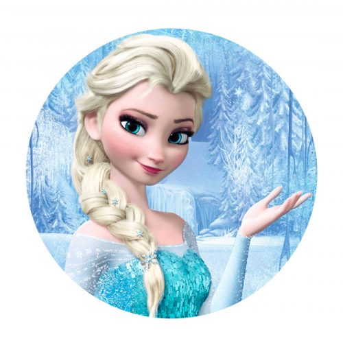 Free Frozen Round Label