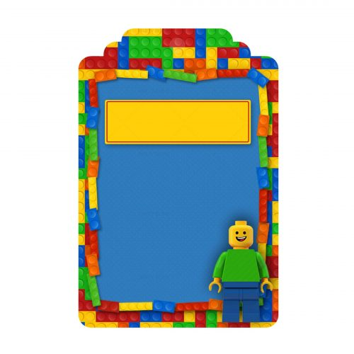 Free Lego Thank your Tag Label Template to download and print