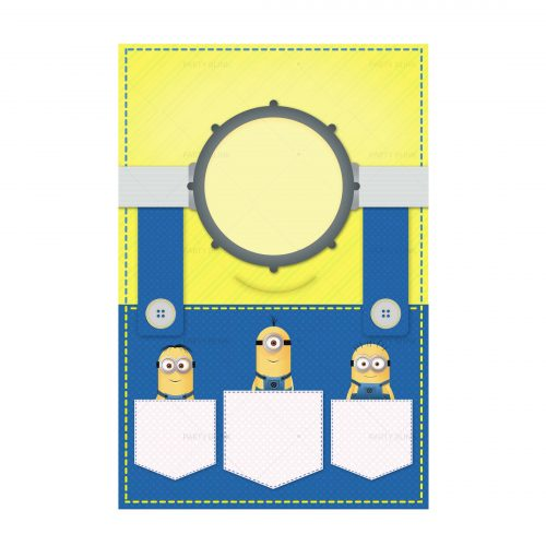 Free Minions Invitation Template Download