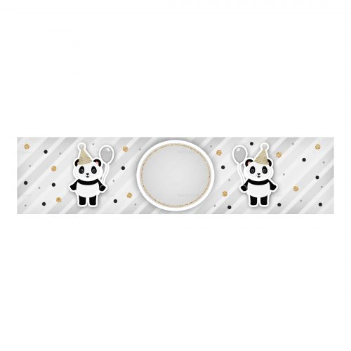 Free Panda Printables - Water Label