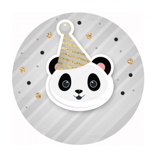 Free Panda Printables - Round Label