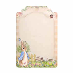 Free Peter Rabbit Tag