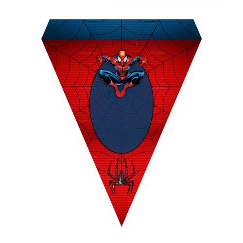 Free Spider-Man Letter Banner