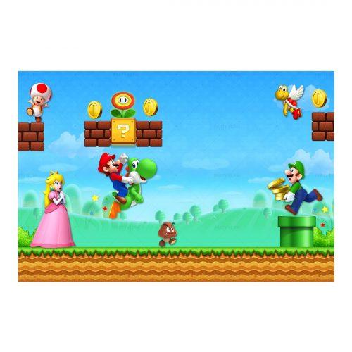 Free Super Mario Invitation