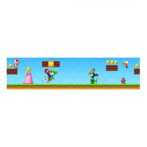 Free Super Mario Label