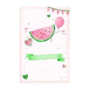 Free Watermelon Invitation