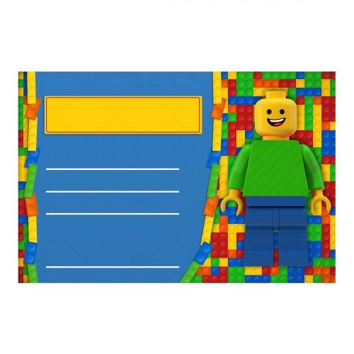 Lego Editable Invitation Free