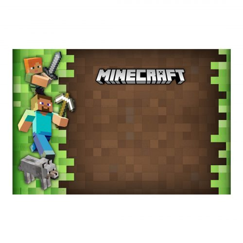 Minecraft Birthday Invitation Free