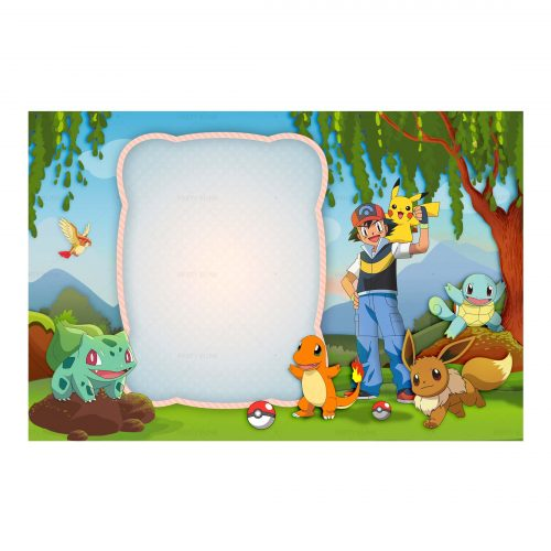 Free Pokemon Invitation