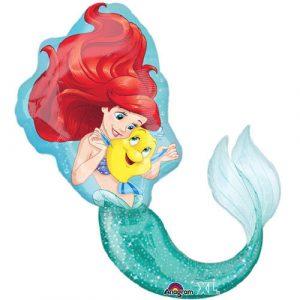 Princess Ariel Little Mermaid Balloon Ebay